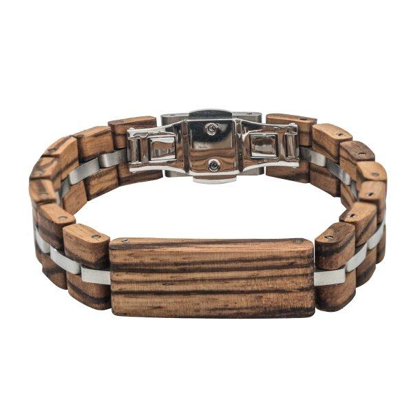 TENSE // Holz Armband Zebrano