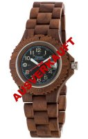 TENSE Wooden Watch // Mens Compass Walnut Wood