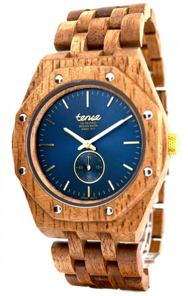 TENSE Wooden Watch // Mens Washington North Butternut Wood