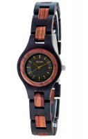 TENSE Wooden Watch // Womens Pacific Black Oak Karriwood