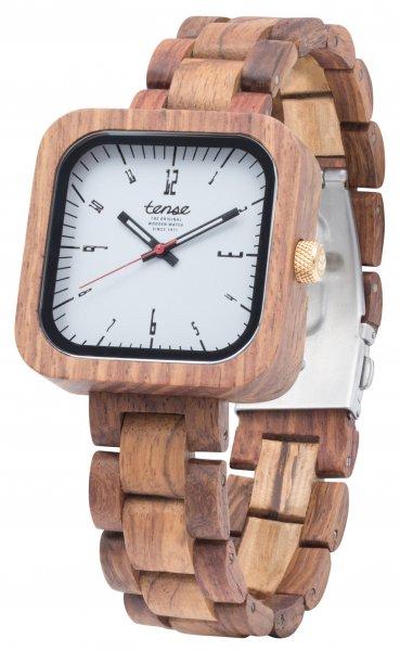 TENSE Wooden Watch // Mens Labrador Teak Wood