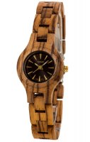 TENSE Wooden Watch // Womens Pacific Zebrawood