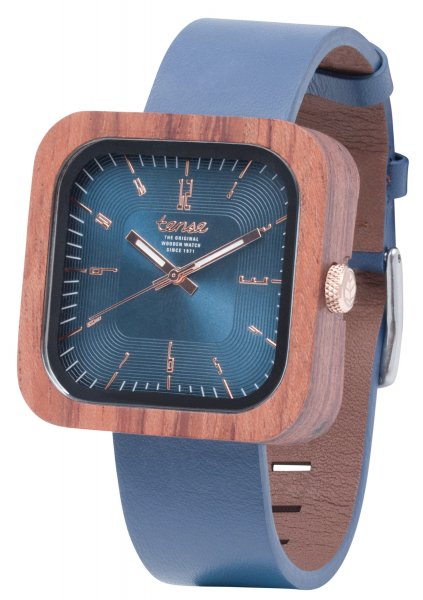 TENSE Wooden Watch // Mens Leather Labrador Karriwood
