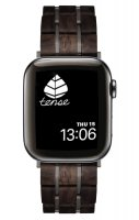 TENSE // Holz Armband für Apple Watch Leadwood / Dark