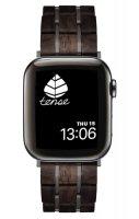 TENSE // Holz Armband für Apple Watch Leadwood / Dark
