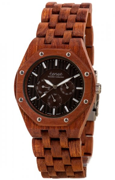 TENSE Wooden Watch // Mens Washington Karriwood