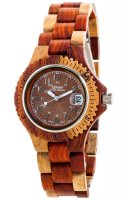 TENSE Wooden Watch // Womens Compass multitone Karriwood