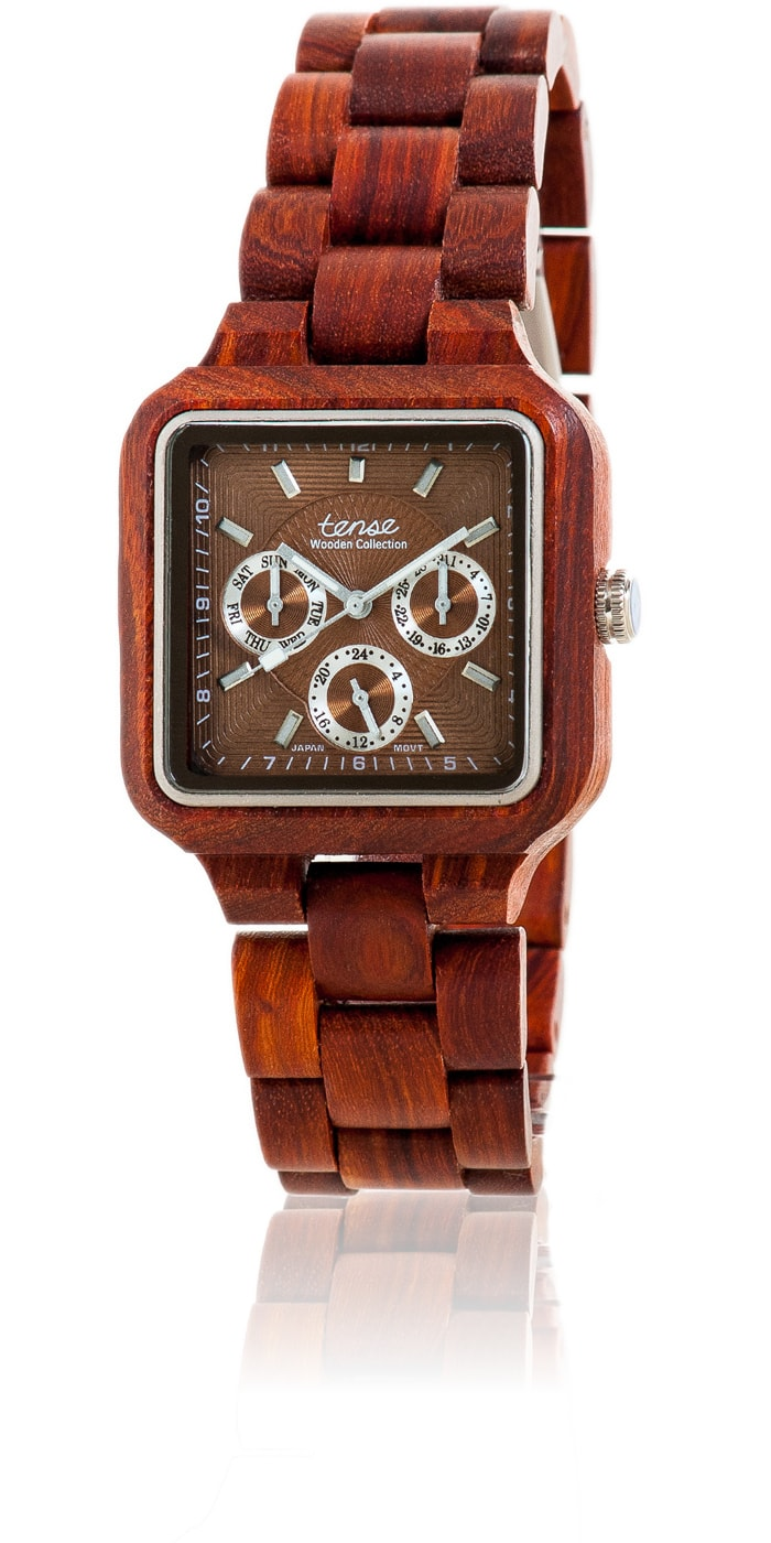 Tense-Holzuhren-Herrenkollektion-Summit-Armbanduhren-aus-Holz