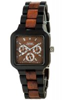 TENSE Wooden Watch // Mens Summit Black Oak Karriwood