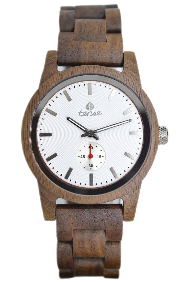 Tense-Holzuhren-Herrenkollektion-Hampton-Armbanduhren-aus-Holz