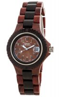 TENSE Wooden Watch // Womens Compass Karriwood Black Oak