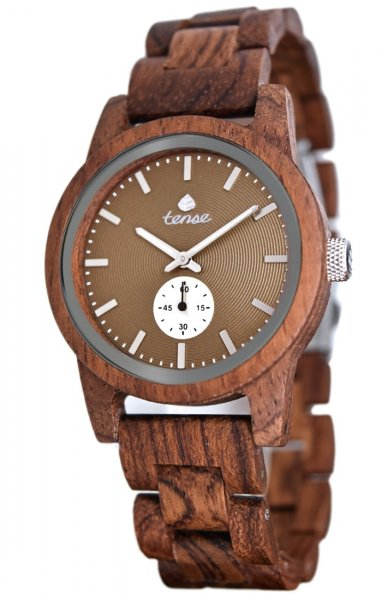 TENSE Wooden Watch // Mens Hampton Karriwood