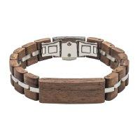 TENSE // Holz Armband Walnuss