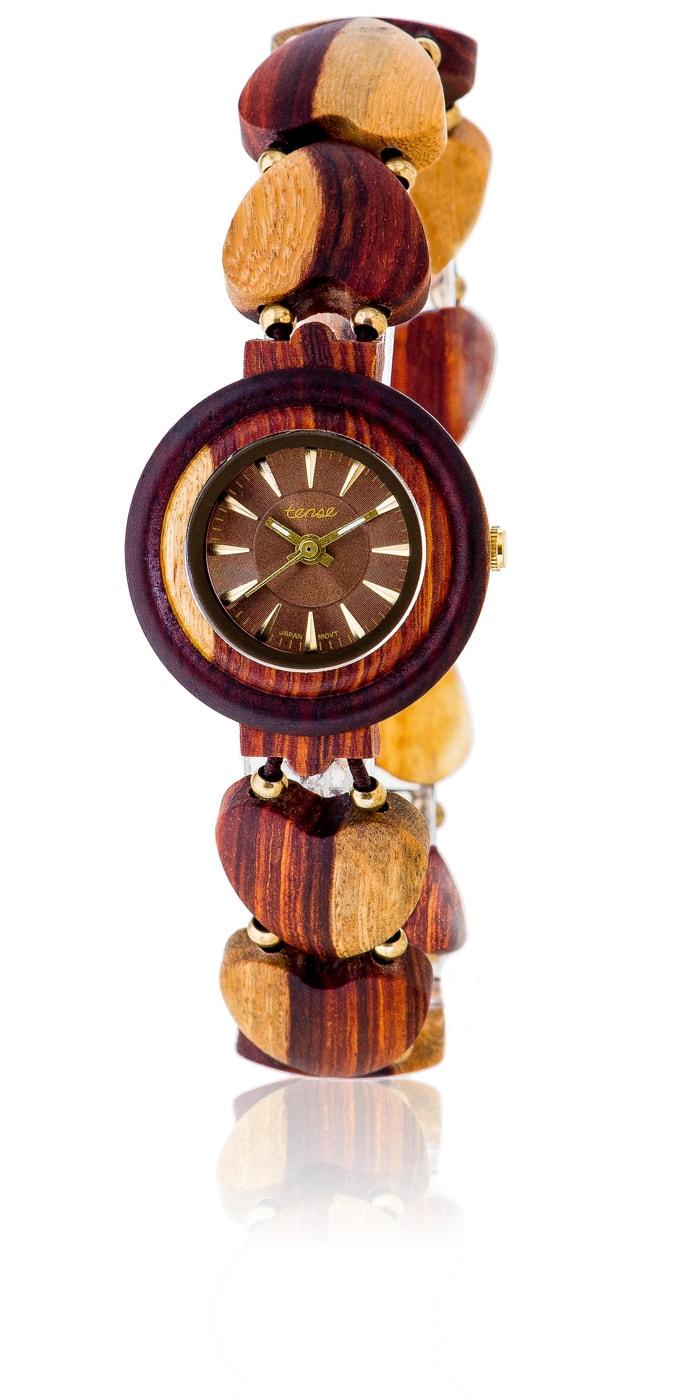Tense-Holzuhren-Damenkollektion-Maria-Armbanduhren-aus-Holz