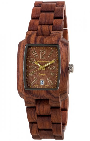 TENSE Wooden Watch // Mens Timber Karriwood