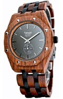 TENSE Wooden Watch // Mens Washington North Karriwood Black Oak