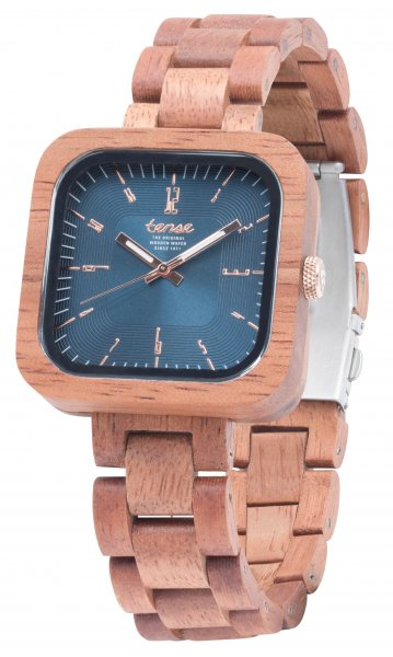 TENSE Wooden Watch // Mens Labrador Butternut Wood