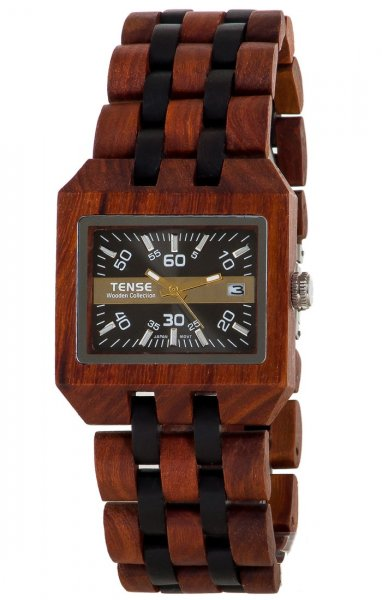 comox men This men's or women's wood watch shows hourly markers and calendar date and has luminescent hands on a rectangular face the comox watch is made from 100% recyc.