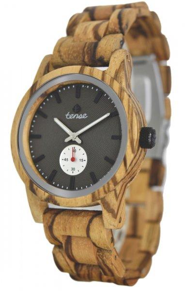TENSE Wooden Watch // Mens Hampton Zebrawood