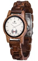 TENSE Wooden Watch // Womens Hampton Walnut Wood