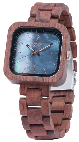 TENSE Wooden Watch // Mens Labrador Karriwood