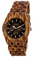 TENSE Wooden Watch // Mens Washington Zebrawood