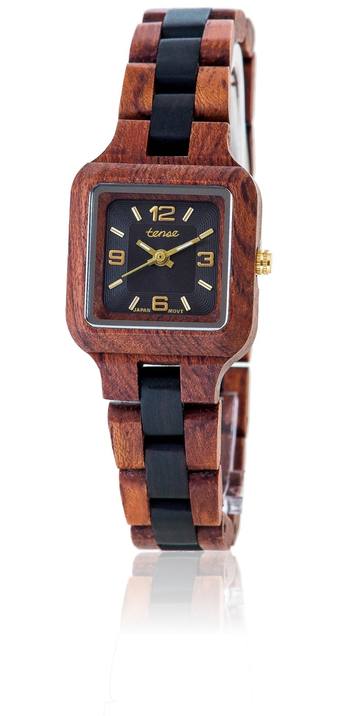 Tense-Holzuhren-Damenkollektion-Summit-Armbanduhren-aus-Holz