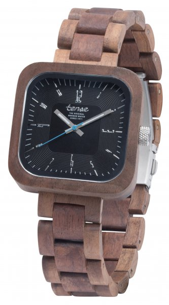 TENSE Wooden Watch // Mens Labrador Walnut Wood