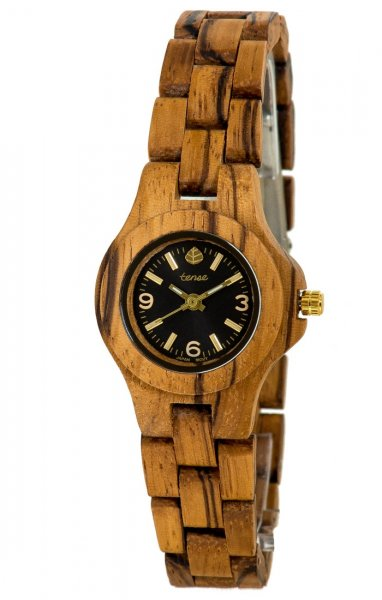 TENSE Wooden Watch // Womens Northwest Zebrawood