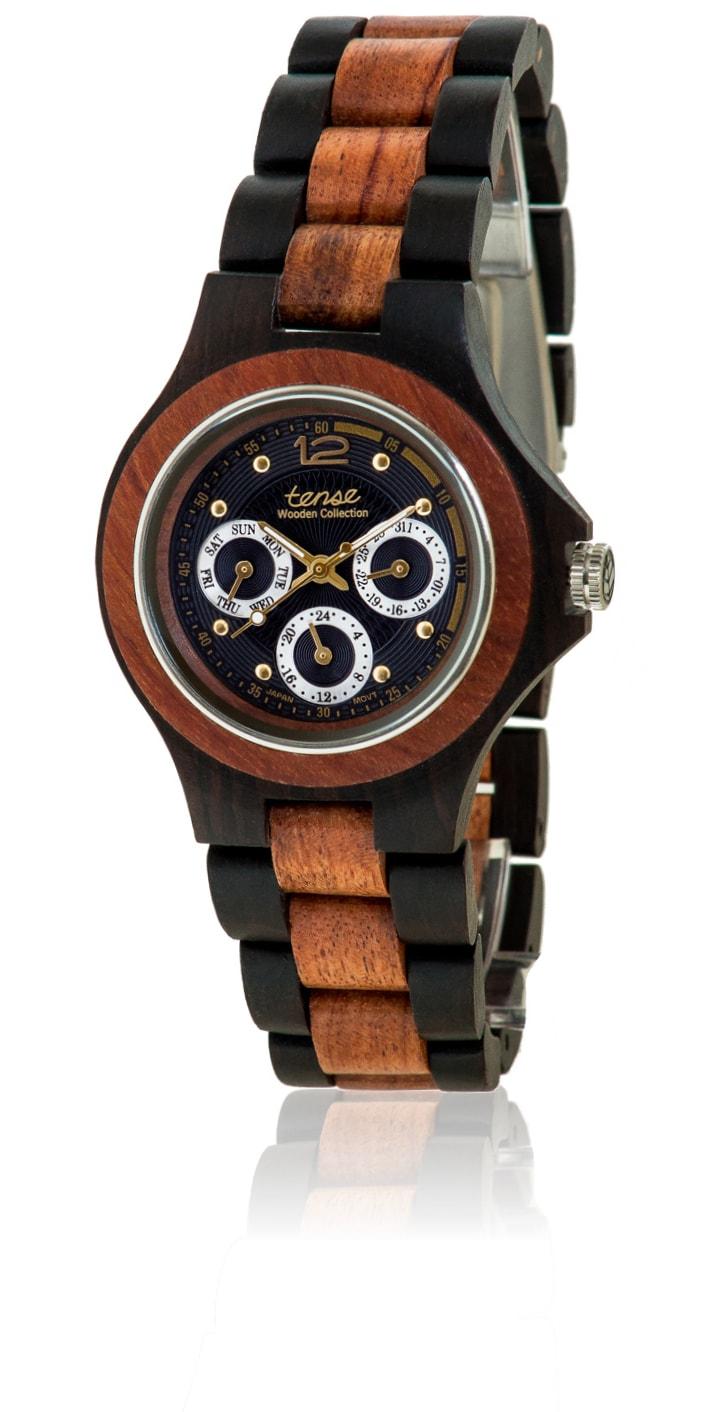 Tense-Holzuhren-Herrenkollektion-Northwest-Armbanduhren-aus-Holz