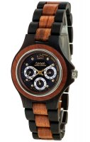 TENSE Wooden Watch // Mens Northwest Black Oak Karriwood
